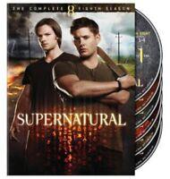 Supernatural: Season 8 (2013, DVD New)