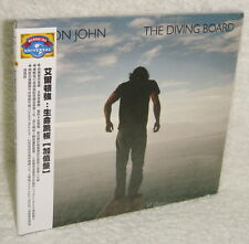 Elton John The Diving Board 2013 Taiwan CD w/OBI (digipak)