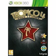 Tropico 4: Gold Edition (Microsoft Xbox 360, 2012)