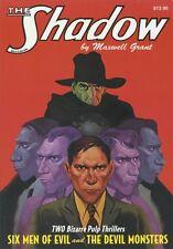 The Shadow #13 Six Men of Evil & The Devil Monsters Sanctum PB Maxwell Grant OOP