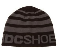 DC Shoes Rock To Fakie Beanie Hat - Black & Grey - Box61 13