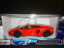 Maisto Lamborghini Aventador LP700-4 Orange 1/24