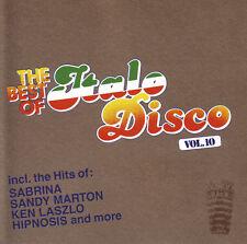 CD THE BEST OF ITALO DISCO VOLUMEN 10 de Various Artistas