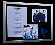 DEPECHE MODE Heaven LTD GALLERY QUALITY CD MUSIC FRAMED DISPLAY+FAST GLOBAL SHIP