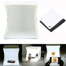 LED Light Room Photo Studio Photography Lighting Tent Backdrop Cube Mini Box F2