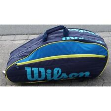 Wilson Tour IV 12 Pack Blue/Yellow bolso de tenis