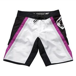 Jet Pilot Women's Rebound Ride Shorts Swim Suit Purple/White/Black Size 11