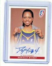Danielle McCray 2010 WNBA Rittenhouse Archives Certified On Card Autograph Auto