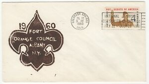 1960 Jul 22nd. Commemorative Cover. National Jamboree, Boy Scouts.