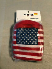Usa Stars & Stripes Driver Golf Club Headcover Red White & Blue Tour Guide New