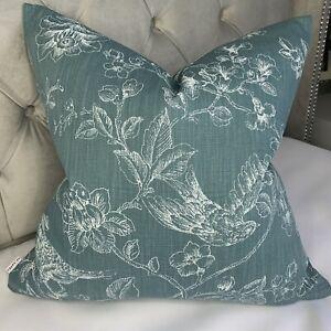 "Cushion Cover 16"" John Lewis & Partners Fabric Nightingales Animal Flowers Print"
