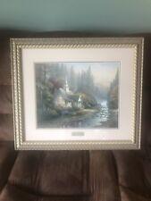 Thomas Kinkade Le Framed Print 16x20 The Forest Chapel w/Coa