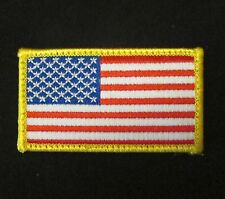 USA AMERICAN FLAG ARMY MORALE BADGE VELCRO® BRAND FASTENER PATCH