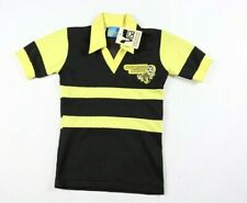 Vintage 80s New Youth Medium Chicago Sting NASL Soccer Jersey Striped Yellow USA