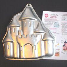 Wilton Enchanted Castle Cake Pan Mold #2105-2031+ Instructions Princess Knights