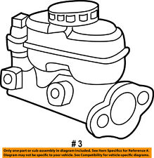 FORD OEM 01-04 Escape-Brake Master Cylinder 2L8Z2140BA