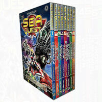 Sea Quest Series 1 and 2 Collection Adam Blade 8 Books Set Pack NEW