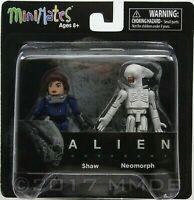 Alien Covenant Tennessee et Neomorph Figurine Minimates Diamond Select