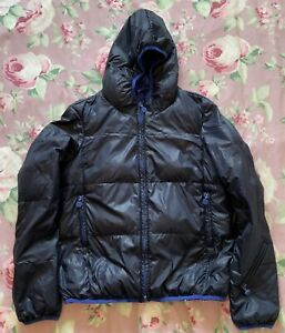 Calvin Klein Navy Blue Puffer Feather & Down Coat Jacket Size L Age 12-14