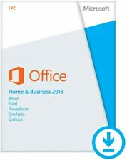 Microsoft Office Home and Business 2013 Full Version for Windows