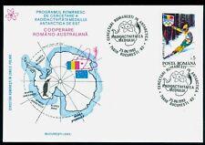 1992 Antarctic Radioactivity research program,map,Romania-Australia coop,cover