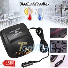 New 12V plug Car 2 in 1 Ceramic Heating Cooling Heater Fan Defroster Demister Us