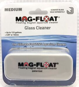 Mag-Float Ultimate Floating Magnet Aquarium Glass Cleaner Med Up To 125 Gallons