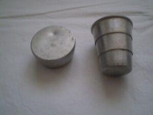 wwll original Aluminum fleld folding cup