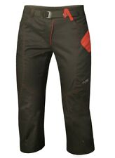 Direct Alpine Yucatan 3/4 Lady Pant Climbing Pants for Ladies Black-Red