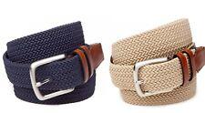 Saddlebred Men's Fashion Accessories Casual Stretch Braided Belt