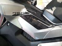 ADESIVI Resinati 3D PROTEZIONI LATERALI compatibili scooter Xadv HONDA X-ADV 750