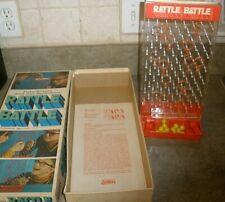 Vintage Parker Brothers Rattle Battle Game 1970 COMPLETE