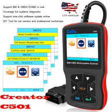 For BMW car code reader OBD2 scanner ABS SRS EPB Erases Reset Fauit Codes C501