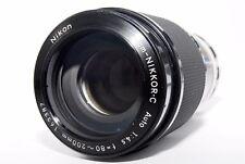 **Excellent+++** Nikon Nikkor Non-Ai Zoom 80-200mm F/4.5 Telephoto Lens #71