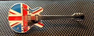 GUITAR PIN BADGE VARIOUS MAKES MODEL & COLOURS ENAMEL GIFT MUSIC GIBSON FENDER