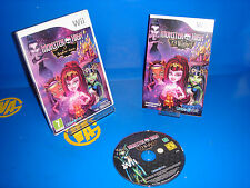 Game for wii monster high 13 wishes monsters-very good condition