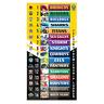 NRL Mini Magnetic Team Ladder