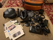 Minolta Maxxum 5000i 35mm Camera, Lenses, Manuals & Case (CQ)