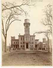 Angleterre Yale, Vintage albumen print  Tirage albuminé  11x16  Circa 1890