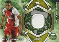 2014 Topps Major League Soccer 'MLS Kits Relic' Card - Base Common Version