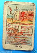 figurines cromos figurine sportive sports anni 30 40 v.a.v. vav nuoto tuffi swim