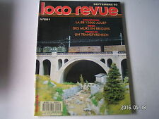 **e Loco Revue n°551 Le Transpyrénéen Oriental en H0 / La BB 12000 Jouef