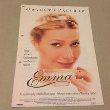 """Emma"" Gwyneth Paltrow James Cosmo Scacchi 1996 Danish Movie Press Release Kit"