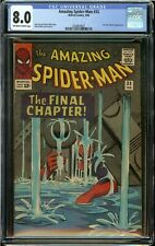 AMAZING SPIDER-MAN #33 (1966) CGC 8.0 DR.CURT CONNORS APPEARANCE
