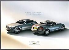 Chrysler Crossfire 2004-05 UK Market Sales Brochure 3.2 V6 Coupe Roadster