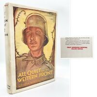 All Quiet on the Western Front – FIRST EDITION – 1st Printing – Remarque 1929