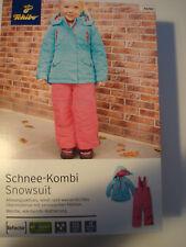 Schneeanzug von TCM Tchibo Mädchen Gr.86-92 Skianzug Schnee-Kombi Hose Jacke NEU