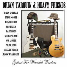 Guitars For Wounded Warriors by Heavy Friends/Brian Tarquin (CD, Sep-2014, Cleop
