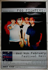 FOO FIGHTERS Brisbane Festival Hall 1998 Huge Tour Poster
