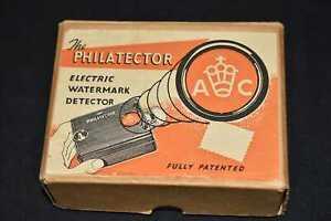 The Philatector Electric Watermark Detector in Original Box, 99p Start